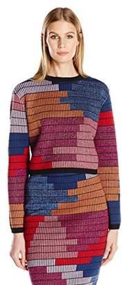 Mara Hoffman Women's Radial Cropped Sweater