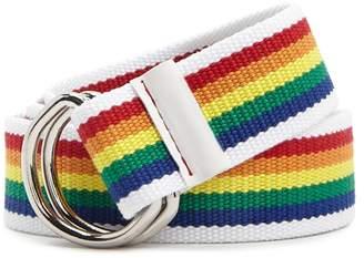 Forever 21 Rainbow D-Ring Belt
