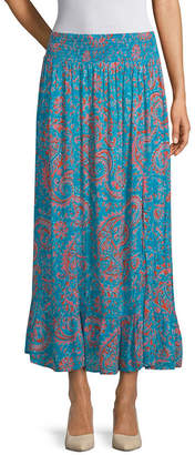 East Fifth east 5th Womens Mid Rise Long Flared Skirt