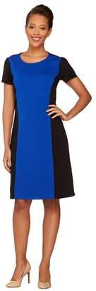 Liz Claiborne New York Textured Ponte Knit Dress