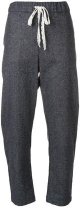 Semi-Couture Semicouture cropped track pants