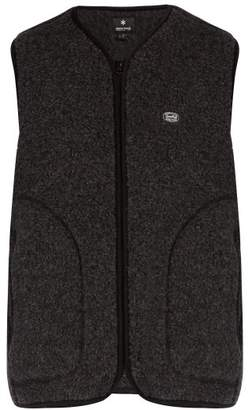 Snow peak Snow Peak - Zip Up Fleece Gilet - Mens - Black