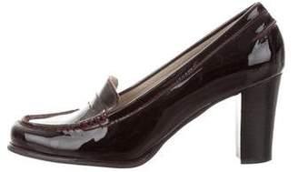 MICHAEL Michael Kors Patent Leather Round-Toe Pumps