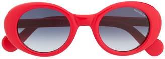 Moncler Eyewear oval sunglasses