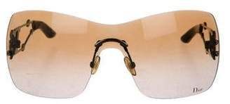 Christian Dior Rimless Gradient Sunglasses