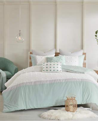 Myla Urban Habitat Cotton 7-Pc. King/California King Duvet Cover Set Bedding
