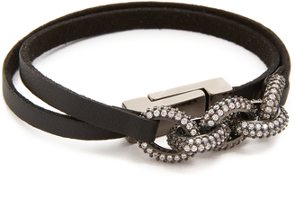 Nathan & Moe Blake Double Wrap Links Bracelet $119 thestylecure.com
