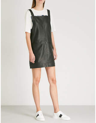 Maje Leather dress