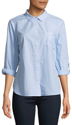 Tommy Hilfiger Cotton Button-Down Shirt