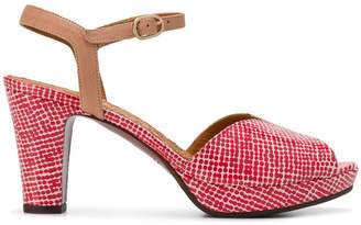 Chie Mihara polka dot open-toe sandals