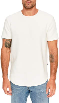 Sol Angeles Ottoman Scallop Ribbed T-Shirt