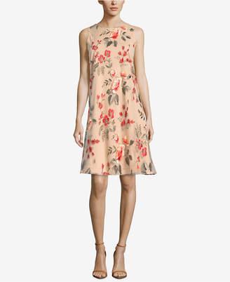 ECI Embroidered A-Line Dress