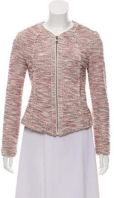 Barneys New York Barney's New York Knit Metallic Jacket