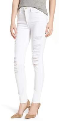 Frame Le Color High Waist Skinny Jeans