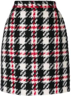 Dolce & Gabbana Pre-Owned 1990's check mini skirt