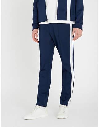 Michael Kors Striped-trim scuba jogging bottoms