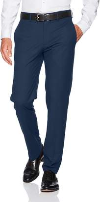 Haggar J.M 4-Way Stretch Solid Flat Front Slim Fit Suit Separate Pant