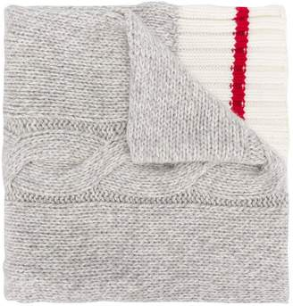 Michael Bastian Gant By cable knit scarf