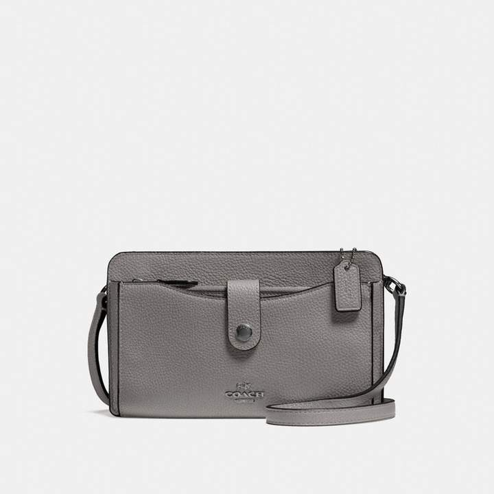 Coach Pop-Up Messenger - HEATHER GREY/DARK GUNMETAL - STYLE
