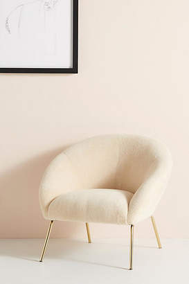 Anthropologie Wool Hillside Occasional Chair