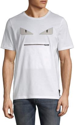 Fendi Graphic Patch T-Shirt