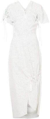 CHRISTOPHER ESBER coiled multi-zip dress