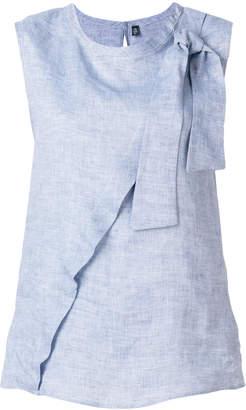Eleventy bow-tied sleeveless top