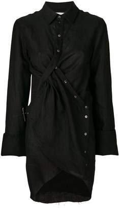 Marques Almeida Marques'almeida asymmetrical shirt dress