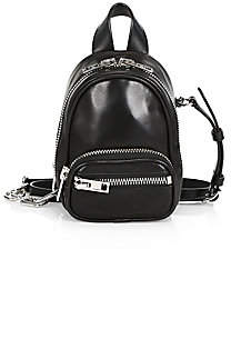 Alexander Wang Women's Mini Attica Leather Crossbody Backpack