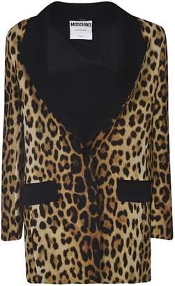 Moschino Leopard Blazer
