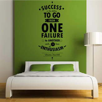 Wall Art 'Success Is The Ability To...' Wall Sticker