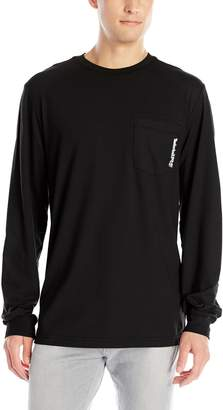 Timberland Men's Big and Tall Base Plate Blended Long-Sleeve T-Shirt