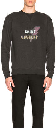 Saint Laurent Lightening Sweatshirt