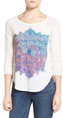 Women's Lucky Brand Photo Mandala Top $39.50 thestylecure.com