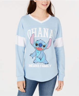 Freeze 24-7 Juniors' Lilo & Stitch Graphic Top