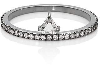 Eva Fehren Women's Offset Shield-Cut Diamond Ring