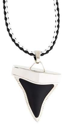 Givenchy Shark Tooth Pendant Necklace