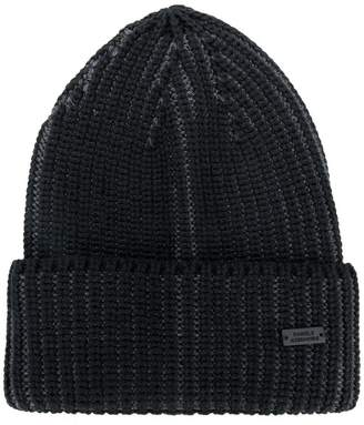 Daniele Alessandrini ribbed knit hat