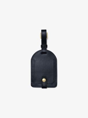 MICHAEL Michael Kors Nouveau Novelty London Leather Luggage Tag