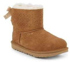 UGG Little Girl's & Girl's K Dae Sunshine Suede & Shearling Boots