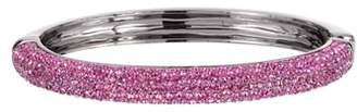 Nina Pave Swarovski Crystal Hinge Bracelet