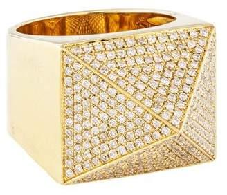Anita Ko 18K Diamond Pyramid Ring