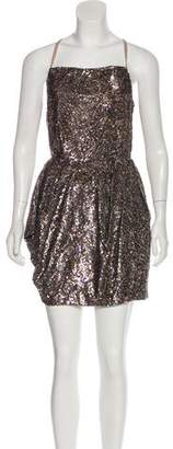 AllSaints Sequin Knee-Length Dress