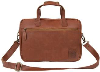 MAHI Leather - Compact Leather Satchel Bag in Vintage Brown