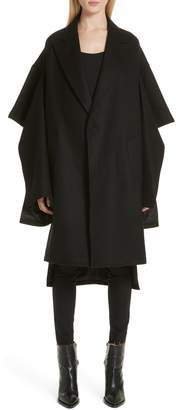 Junya Watanabe Split Sleeve Wool Blend Coat