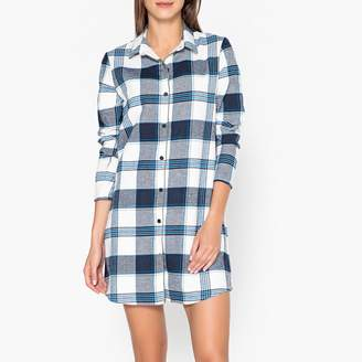 La Redoute COLLECTIONS Checked Cotton Nightshirt 4810016c3