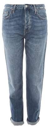 Topshop Mid Blue Hayden Boyfriend Jeans