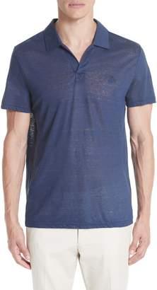 7116f121f spain blue polo shirt with white collar f8db9 c035b