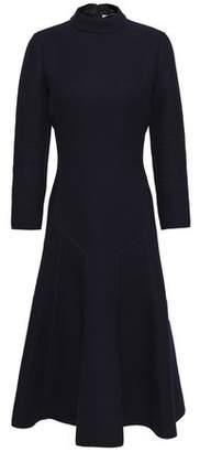 Agnona Fluted Wool-crepe Dress