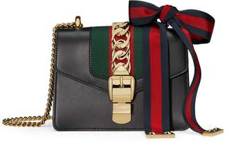 Sylvie leather mini chain bag $1,950 thestylecure.com